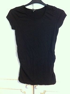 Ladies Maternity Top Black Size 10 New Look