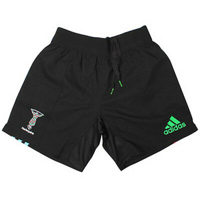 Harlequins Rare Player Issue Rugby Shorts Size 7 (36 Inch Waist) BNWT FREE POST