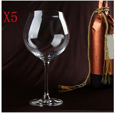 New 5X Capacity 643ML  Height  211MM  Transparent  Red Wine Glass/Glassware %