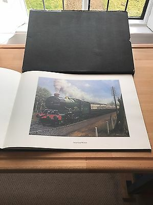 King Steam Ltd Edition Book of C. Hamilton Ellis