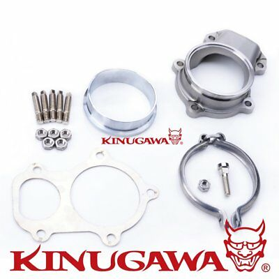"Kinugawa Turbo 5 bolt to 3"" V-band Dump Pipe Flange For Ford XR6 FALCON BA/BF"