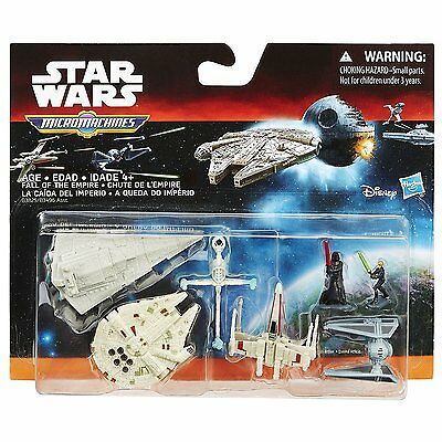 Star Wars Return Of The Jedi Micro Machines Deluxe Pack Fall Of The Empire