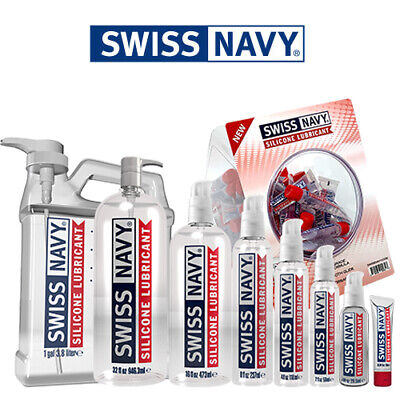 Swiss Navy Premium Silicone Based Lubricant - Long Lasting Personal Sex Lube