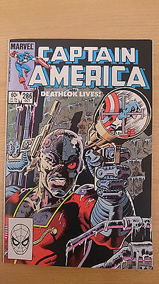 Marvel comics Captain America #286 October 1983 VF/NM first print