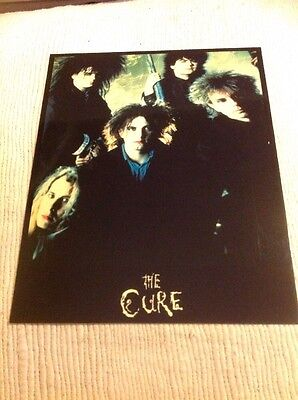 The Cure Poster Print On Card 1986 20x25cm