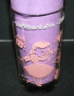 THE WIZARD of Oz. SWIFT PEANUT BUTTER GLASS. VINTAGE. '50s. DOROTHY. RARE.