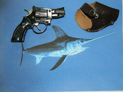 Swordfish Gun Shaped Jet Torch Lighter .38 Special USA Stocked & Shipped