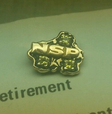 10k Gold NSP Northern States Power 35-39 Years Service Retirement WI Electric Co