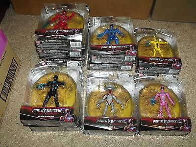 """*NEW* power rangers movie 5"""" action figure case of 10 by bandai"""