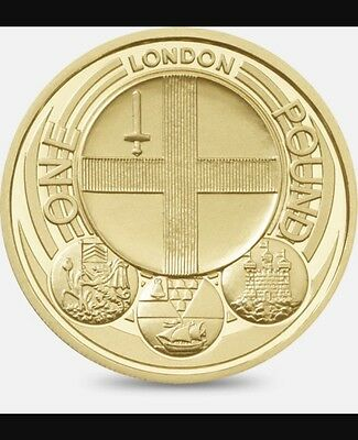 Capital cities - London £1 One Pound Coin 2010
