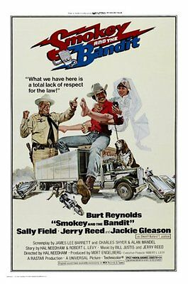 Smokey And The Bandit Movie Poster 24x36""