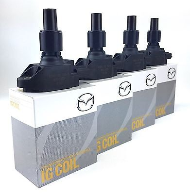 Mazda Rx8 Ignition Coil Packs Set Of 4 Brand New Latest Version