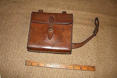 Hunting sandwich case/tin   Canteen for saddle attatchment  by Swaine Adeney