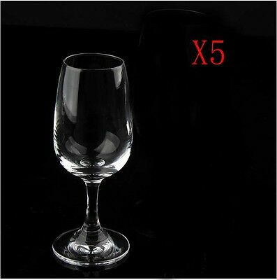 New 5X Capacity 125ML  Height  139MM  Transparent  Red Wine Glass/Glassware %