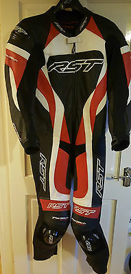 RST Tractech Evo leather One Piece Leather Suit Size UK 44, EU 54