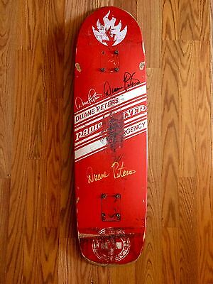 Duane Peters Radio Flyer Emergency Black Label Personal Skateboard
