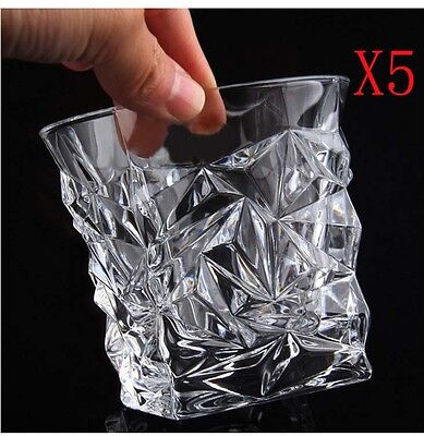 New 5X Capacity 250ML Height 90MM Creative Whisky Wine Glass/Glassware %