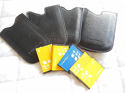 Blackberry Leather Cases And Batteries