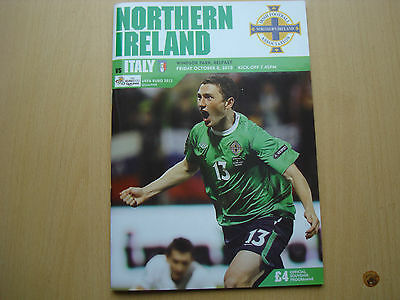 Northern Ireland V Italy Oct 2010