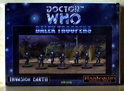 Harlequin - Dr Who Invasion Earth - Dalek Troopers - VERY RARE