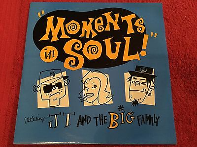 """JT And The Big Family - Moments In Soul - 12"""" Single"""
