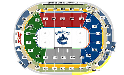 2 Tickets Vancouver CANUCKS vs Montreal CANADIENS March 7, 2017 Rogers Arena