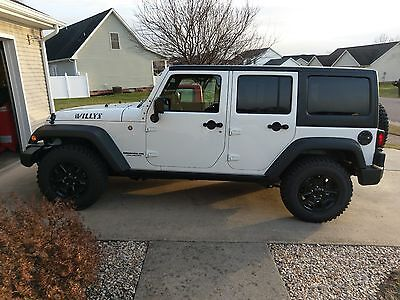 2016 Jeep Wrangler sport willys 2016 jeep wrangler unlimited Willy's edition only 5000 miles