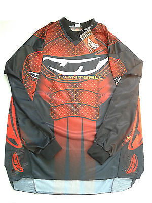 Jersey JT PRO Paintball Red/Black  2 Pack XXL