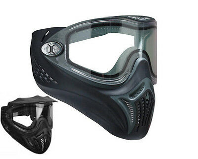 Vents Avatar Paintball Goggles,Thermal Dual-Lense Speedball Goggles Black , New