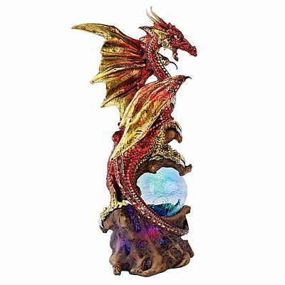 Dragon Defender of Life Source Orb FANTASY BOYS ADULT COLLECTOR RED BRAND NEW