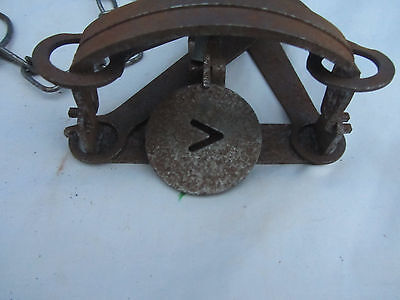 Oneida Victor Vintage Antique  Animal Trap Made In Usa