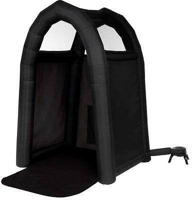 Inflatable Tan In A Tent Auto Pumps Up Sunless Tanning Tent