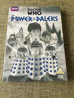 Doctor Who Power Of The Daleks DVD Animation 2016 New Sealed