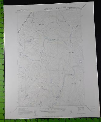 Seven Islands Maine 1955 Antique USGS Topographic Map Printed 17x21