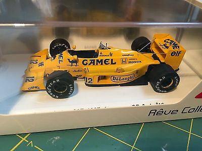 1/43 Reve Collection Lotus 99T Senna 1987