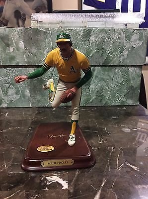 Rare Danbury Mint Rollie Fingers Oakland A's Figure Figurine See Pictures/ Notes
