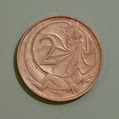 1966 Australia Two Cent Coin