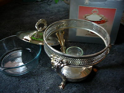 Chafing Dish - Silver Plated 1.5 Quart - NEW