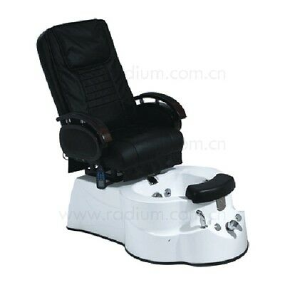 Pedicure Massage Chair Luxury Day Spa Beauty Salons LED Lights Comfortable Plush