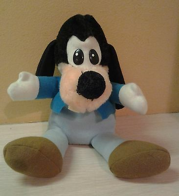"Vintage Rare 1983 Mickey Mouse & Friends Goofy Plush 9.5"" stuffed animal"