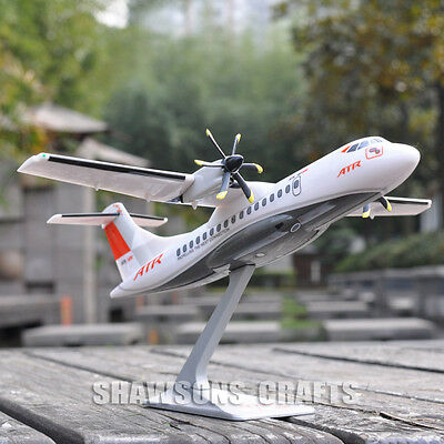 1:100 Model Plane Collection Aircraft Atr 42-600 Airliner Replica