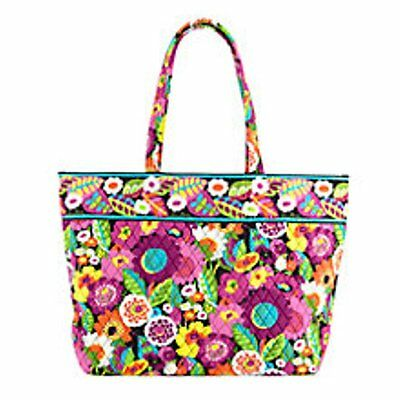 Vera Bradley Grand Tote Travel Bag Carry On Va Va Bloom New With Tag