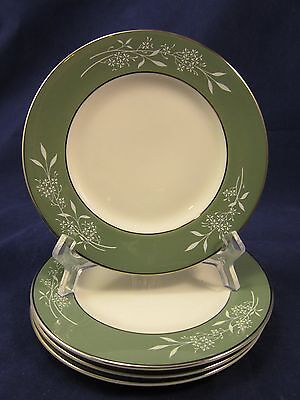 Syracuse China, Candlelight Pattern, 4 Bread & Butter Plates, Ex.condition