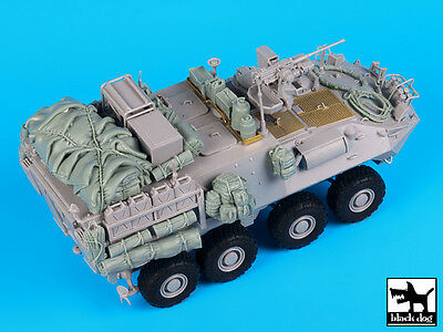Black Dog 1/35 Australian ASLAV-PC Phase 3 Accessories Set for Trumpeter