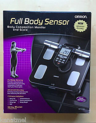 Omron HBF-516B Full Body Composition Sensing Scale and Monitor,BrandNew,Warranty