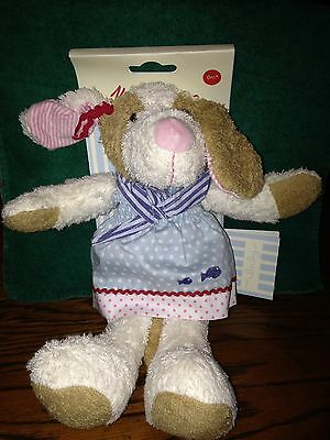 "Käthe Kruse Dolce Hund Spieltier 12"" Plush Puppy Brand New Toy For All Ages"