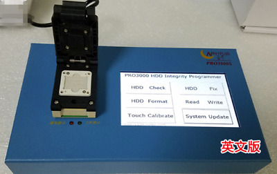 Ic Chip Programmer 32bit+64BIT 2IN1 PRO3000 for 5s 6 6+ For ipxd bypass icloud