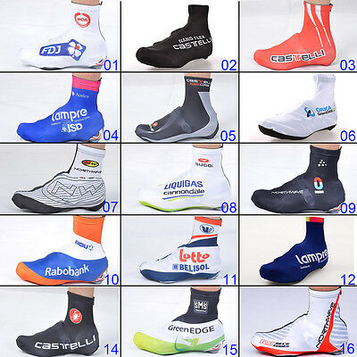 Zipper Overshoe Cycling Shoe Covers Windproof Bicycle Bike Racing Gear M L XL