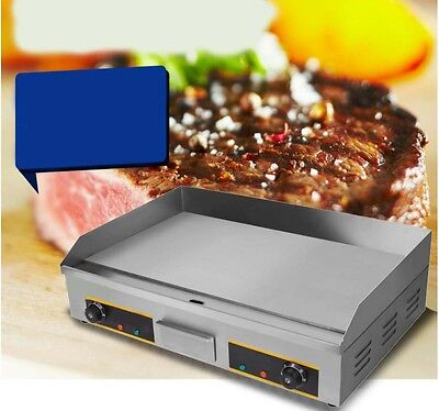 Commercial Teppanyaki Grill Thickened Hot Plate Stainless Steel Electric Grill *
