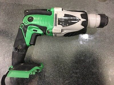 Hitachi DH 18DSL Cordless Rotary Hammer Drill - Skin Only - 18v